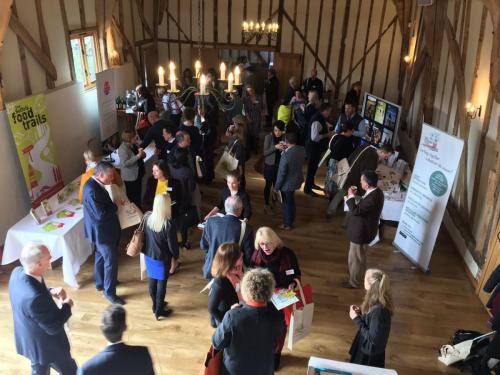 Visit Suffolk Conference at Bruisyard Barn